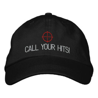 """Airsoft """"Call your hits"""" hat Embroidered Baseball Caps"""