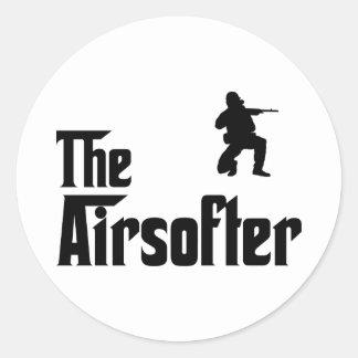 Airsofting Round Sticker
