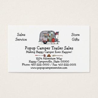 Airstream Trailer Business Card