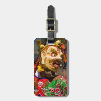 Aisan Festival Dancer Luggage Tag