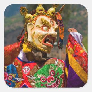 Aisan Festival Dancer Square Sticker