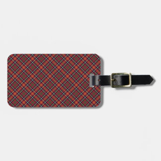 Aitken / Aikens Tartan Designed Print Luggage Tag