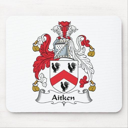 Aitken Family Crest Mouse Mats