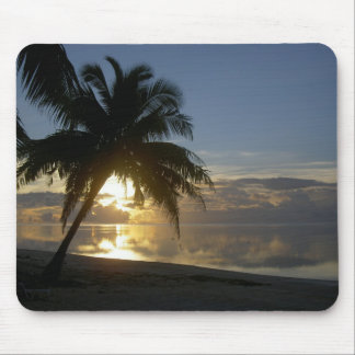 Aitutaki Sunset Cook Islands Mouse Pad