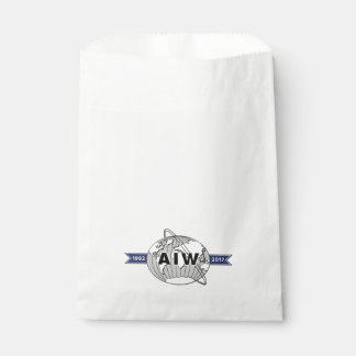 AIW 25th Anniversary Logo Favour Bag