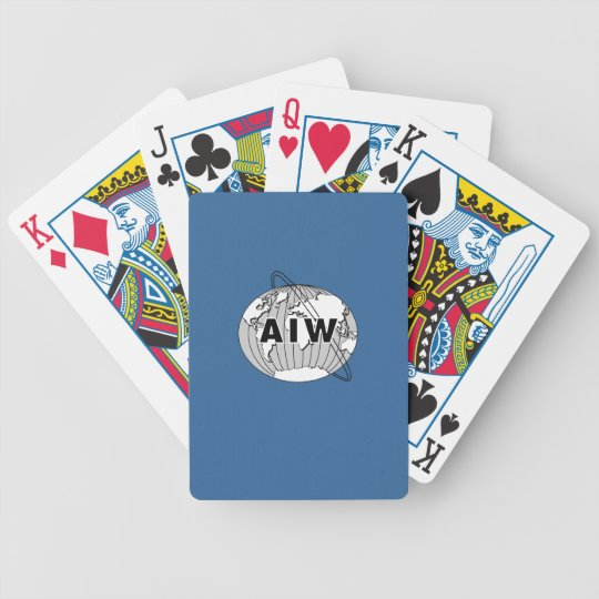 AIW Logo Playing Cards