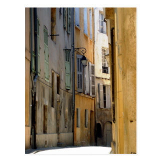 Aix Alley Postcard