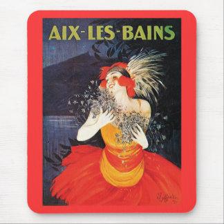 AIX - LES - BAINS MOUSE PAD