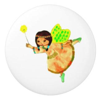 Aiyana Fairy Ceramic Knob