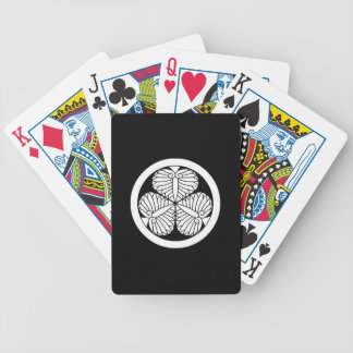 Aizu hollyhock(19) bicycle playing cards