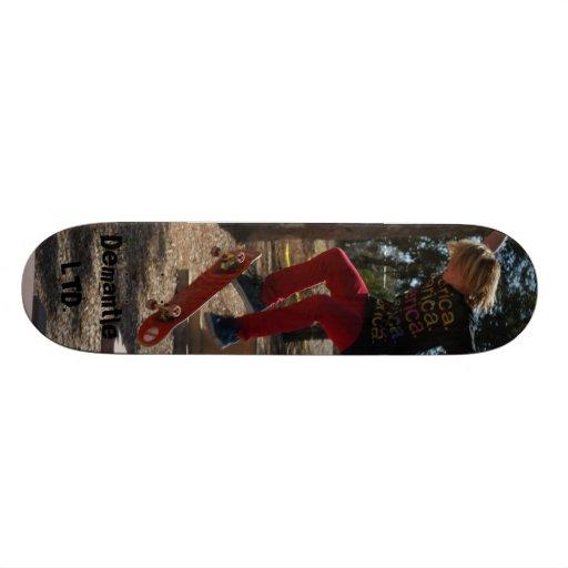 AJ Brassard, Demantle LTD. Skate Board Deck