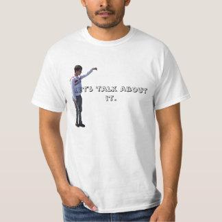 AJ, Let's talk about it. T-Shirt