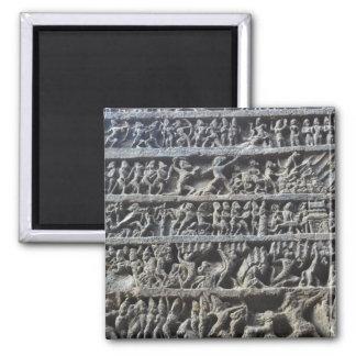 Ajanta Caves Hindu Sculpture Photo Print Magnet