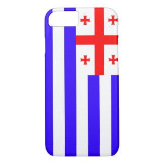 Ajaria Adjaria Adjara republic flag symbol georgia iPhone 8/7 Case