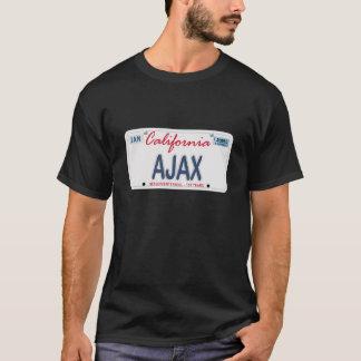 AJAX License Plate T-Shirt