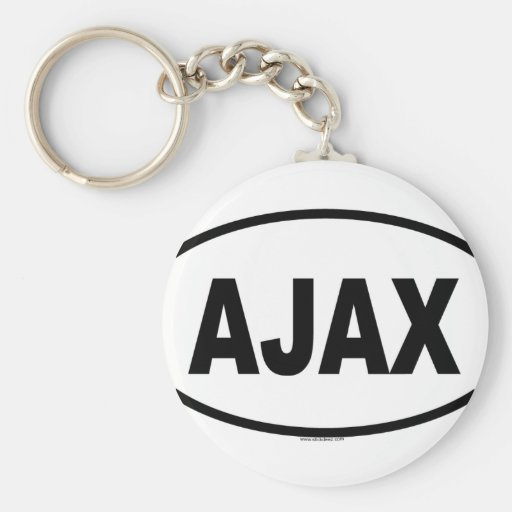 AJAX PORTE-CLÉ ROND