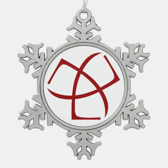 AJC Snowflake Ornament
