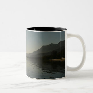 Ajijic, jalisco sunset Two-Tone coffee mug
