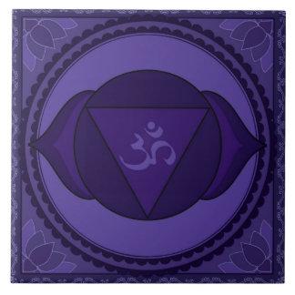 Ajna (Āgyā) or Third Eye Chakra Tile