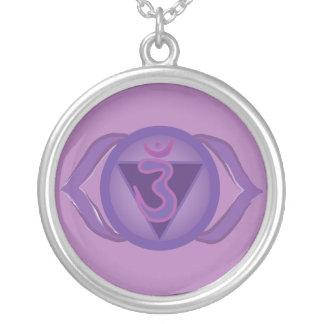 Ajna or Third eye Chakra Round Necklace