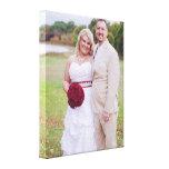 Ajoutez la photo de mariage ou toute autre 'toile  toiles tendues