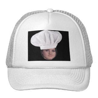 Ajoutez votre photo à un casquette de chef