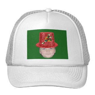Ajoutez votre photo à un casquette de Noël de