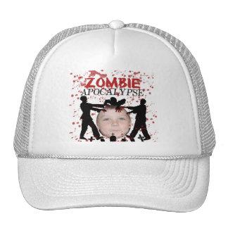 Ajoutez votre photo à une invasion d'apocalypse de casquettes