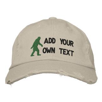 Ajoutez votre propre texte, logo de Bigfoot Casquette Brodée