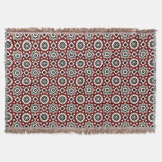 Ajrak tribal Pattern Throw Blanket
