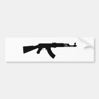 Ak47 Gun Bumper Sticker