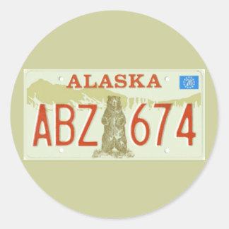 AK76 CLASSIC ROUND STICKER