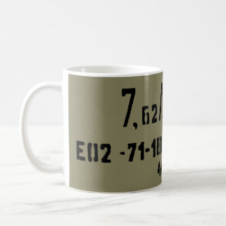 AK-47 7.62x39 Ammo Spam Can Coffee Mug