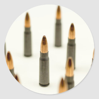 AK-47 Ammo Bullet AK47 Cartridge 7.62x39 Classic Round Sticker