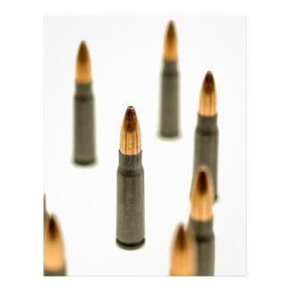 AK-47 Ammo Bullet AK47 Cartridge 7.62x39 Letterhead