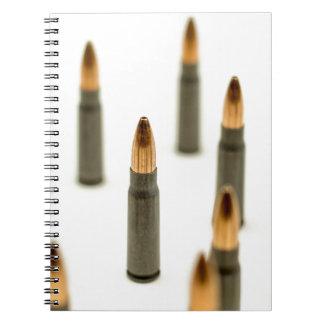 AK-47 Ammo Bullet AK47 Cartridge 7.62x39 Notebooks