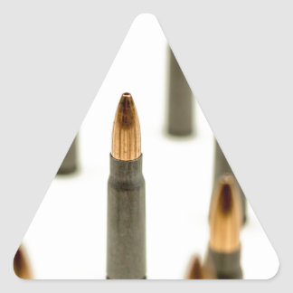 AK-47 Ammo Bullet AK47 Cartridge 7.62x39 Triangle Sticker