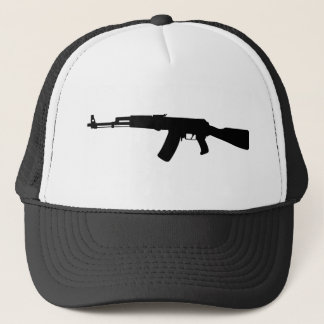 AK-47 assault rifle Kalashnikov Trucker Hat