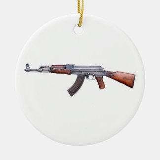 AK-47 CERAMIC ORNAMENT