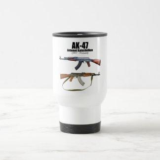 AK-47 History Avtomat Kalashnikova Assault Rifles Travel Mug