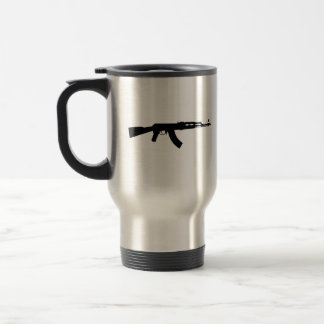 AK-47 Stainless Steel Travel Coffee Mug