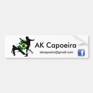 AK Capoeira Brazil Bumper stick Bumper Sticker
