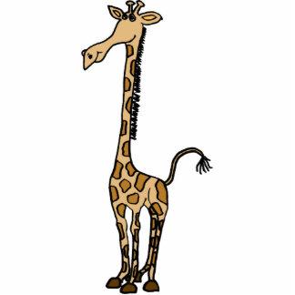 AK- Whimsical Giraffe Photo Sculpture
