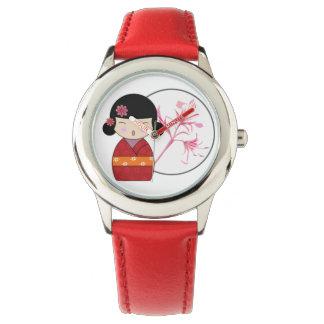 Akai Kokeshi Watch