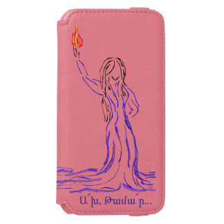Akh Tamar with Poem Incipio Watson™ iPhone 6 Wallet Case