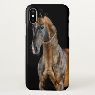 Akhal-Teke Horse iPhone X Case