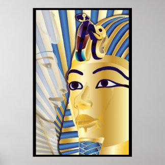 Akhenaten and Tutankhamun Poster