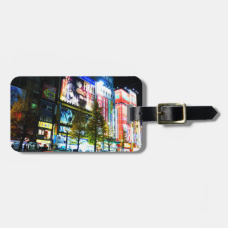 Akihabara (Electric City) in Tokyo, Japan Luggage Tag