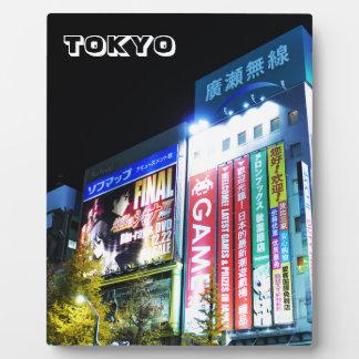 Akihabara (Electric City) in Tokyo, Japan Plaque
