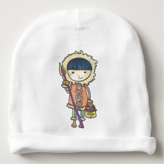 Akiou small the Inuit Baby Beanie
